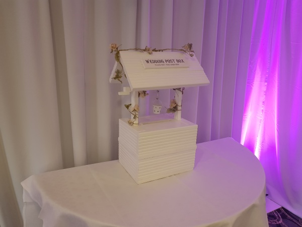 #Weddingpostbox #weddinghire #postboxhire #wishingwellpostbox #wishingwell #personalisedpostbox