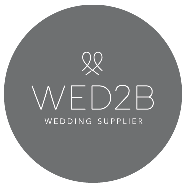 We are an official Wed2B Wedding Supplier!