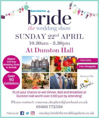 Dunston Hall Wedding Show this Sunday!