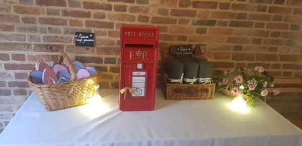 #postbox postboxhire weddingpostbox