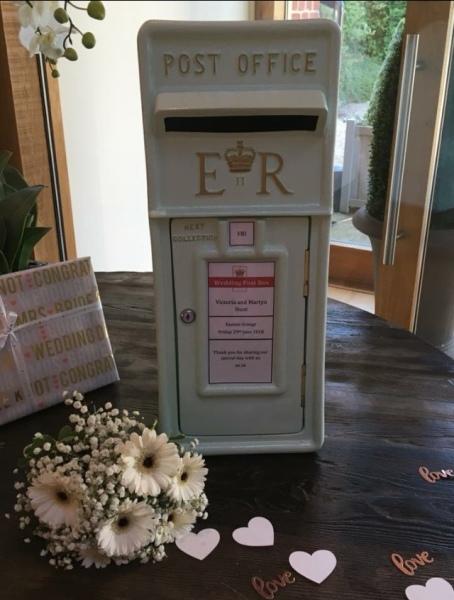 #postboxforhire #weddingpostbox #postbox #mintgreenpostbox