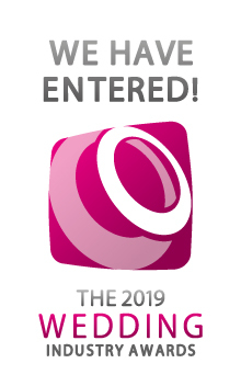 We're in for the Wedding Industry Awards 2019