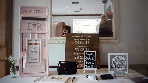 #pinkpostbox #pinkwedding #postboxhire #weddingpostbox
