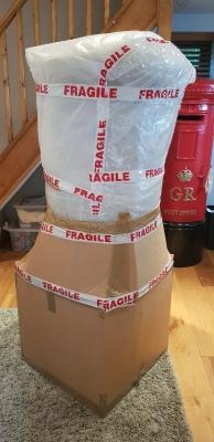 Another bespoke pillar post box purchase