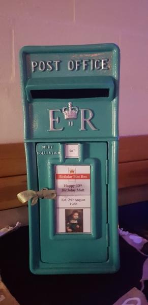 weddingpostbox birthdaypostbox postboxhire