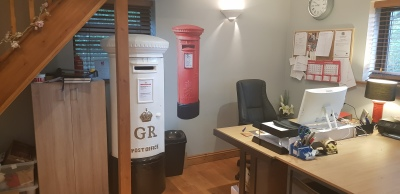 A sneak preview inside Wedding Post Box Hire HQ