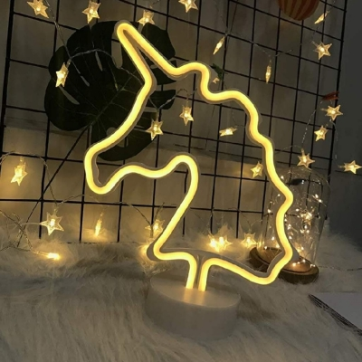 white unicorn light