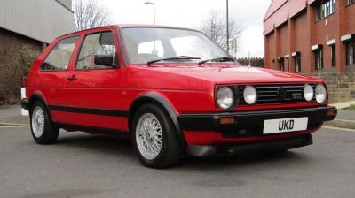 VW GOLF MK2 GTI 8V 1.8 3DR RED 1989