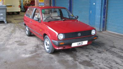 VW POLO MK2 BREADVAN 1.0 3DR RED 1985