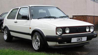 VW GOLF MK2 DRIVER 1.8 3DR WHITE 1991