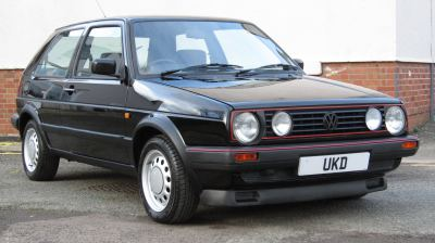 VW GOLF MK2 GTI 8V 1.8 3DR BLACK 1988