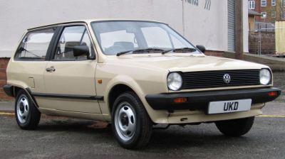 VW POLO MK2 BREADVAN 1.0 3DR BEIGE 1985