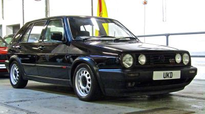 VW GOLF MK2 GTI 16V 1.8 5DR BLACK 1991
