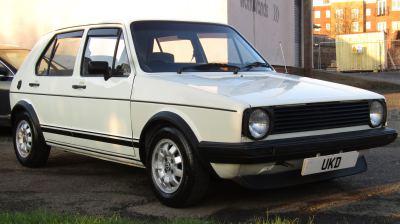 VW GOLF MK1 DRIVER 1.6 5DR WHITE 1991