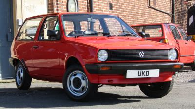 VW POLO MK2 BREADVAN 1.0 3DR RED 1983