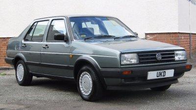 VW JETTA MK2 1.3 4DR GREEN 1987
