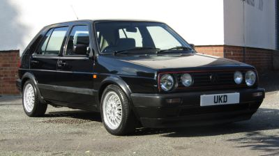 VW GOLF MK2 GTD 1.6 5DR BLACK 1991