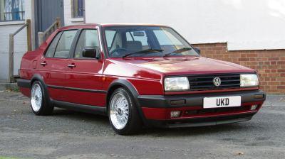 VW JETTA MK2 GX 1.8 AUTO 4DR RED 1991