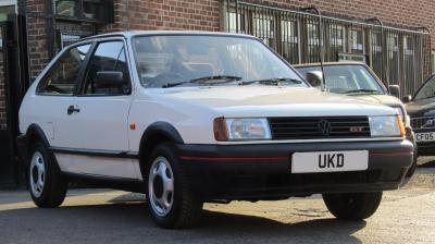 VW POLO MK2 COUPE GT 1.3 2DR WHITE 1991