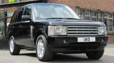 LAND ROVER RANGE ROVER VOGUE 2.6 TDI HSE BLACK 2004