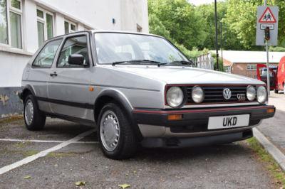 VW GOLF MK2 GTI 16V 1.8 3DR SILVER 1989