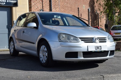 VW GOLF MK5 1.9 TDI 5DR SILVER 2004