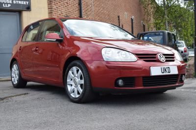 VW GOLF MK5 GT TDI 1.9 5DR RED 2004