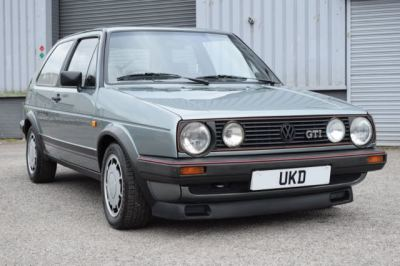 VW GOLF MK2 GTI 8V 1.8 3DR JADE GREEN 1986