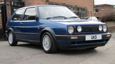 VW GOLF MK2 GTI 8V 1.8 3DR BLUE 1991