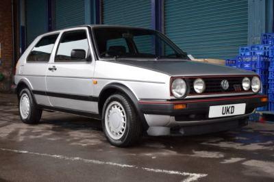 VW GOLF MK2 GTI 16V 1.8 3DR SILVER 1988