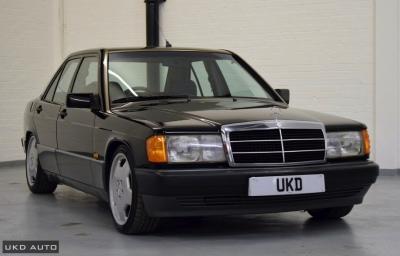MERCEDES-BENZ 190E 2.0 AUTO BLACK 1992
