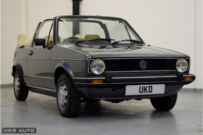 VW GOLF MK1 1.5 KARMANN CABRIOLET GREEN 1983