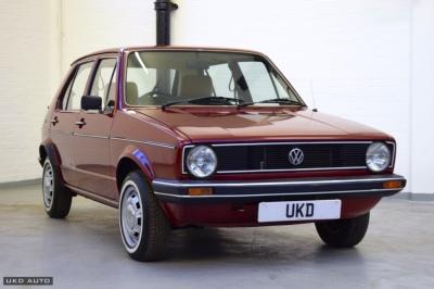 VW GOLF MK1 1982 1.3 CL 5DR RED