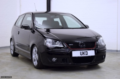 VW POLO GTI 1.8 TURBO 2006 3DR BLACK