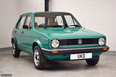 VW GOLF MK1 1.3 5DR GREEN 1982