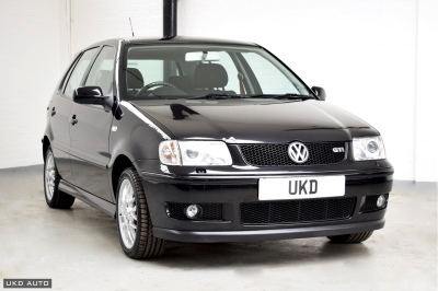 VW POLO 1.6 GTI 6N2 BLACK 5DR 2001