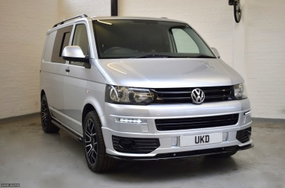 VW T5 CAMPER CONVERSION 2.0 2010 SILVER