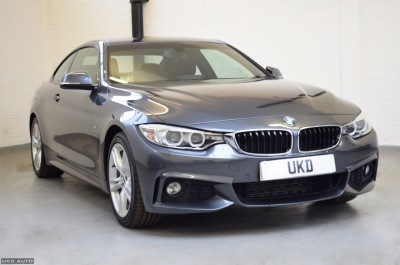 BMW 4 SERIES M SPORT 430D 2015 GREY