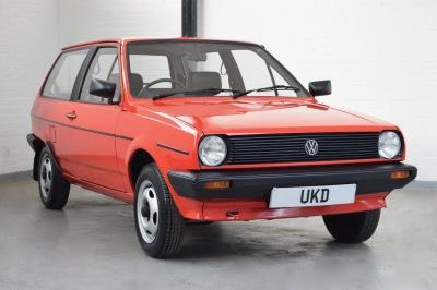 VW POLO MK2 BREADVAN 1.0 C RED 1984