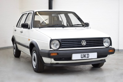 VW GOLF 1.3 MK2 1989 5DR WHITE