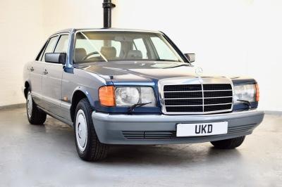 MERCEDES 420 SE BLUE 1986 4DR AUTO