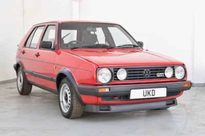 VW GOLF GTI MK2 1.8 5DR RED 1988