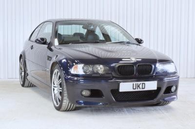 BMW M3 E46 SMG BLUE COUPE 2003