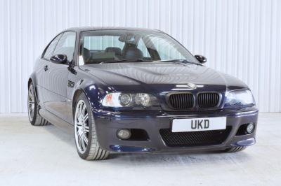 BMW M3 E46 SMG BLUE COUPE 2003