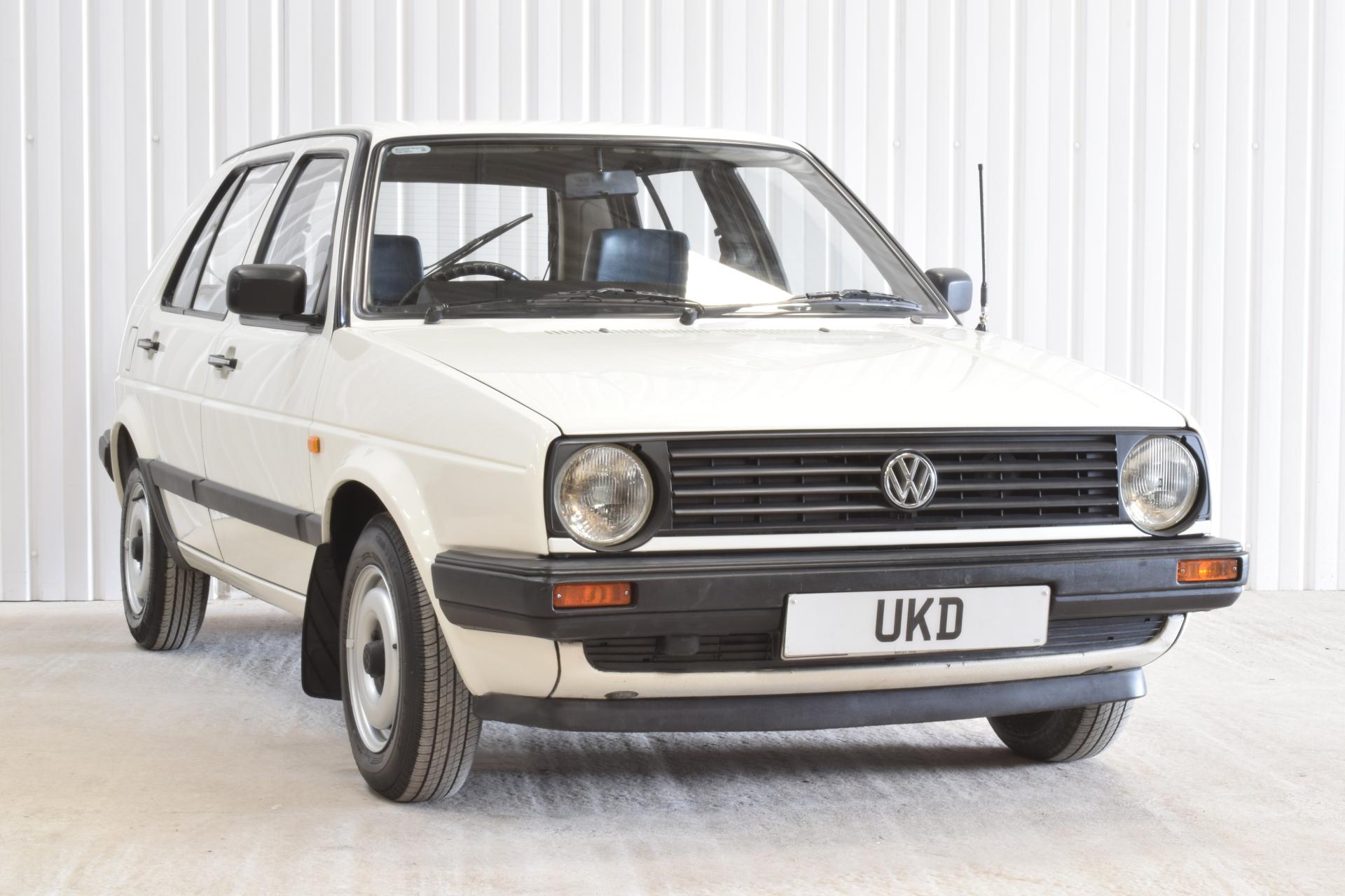 VW GOLF MK2 1.3 5DR WHITE 1988