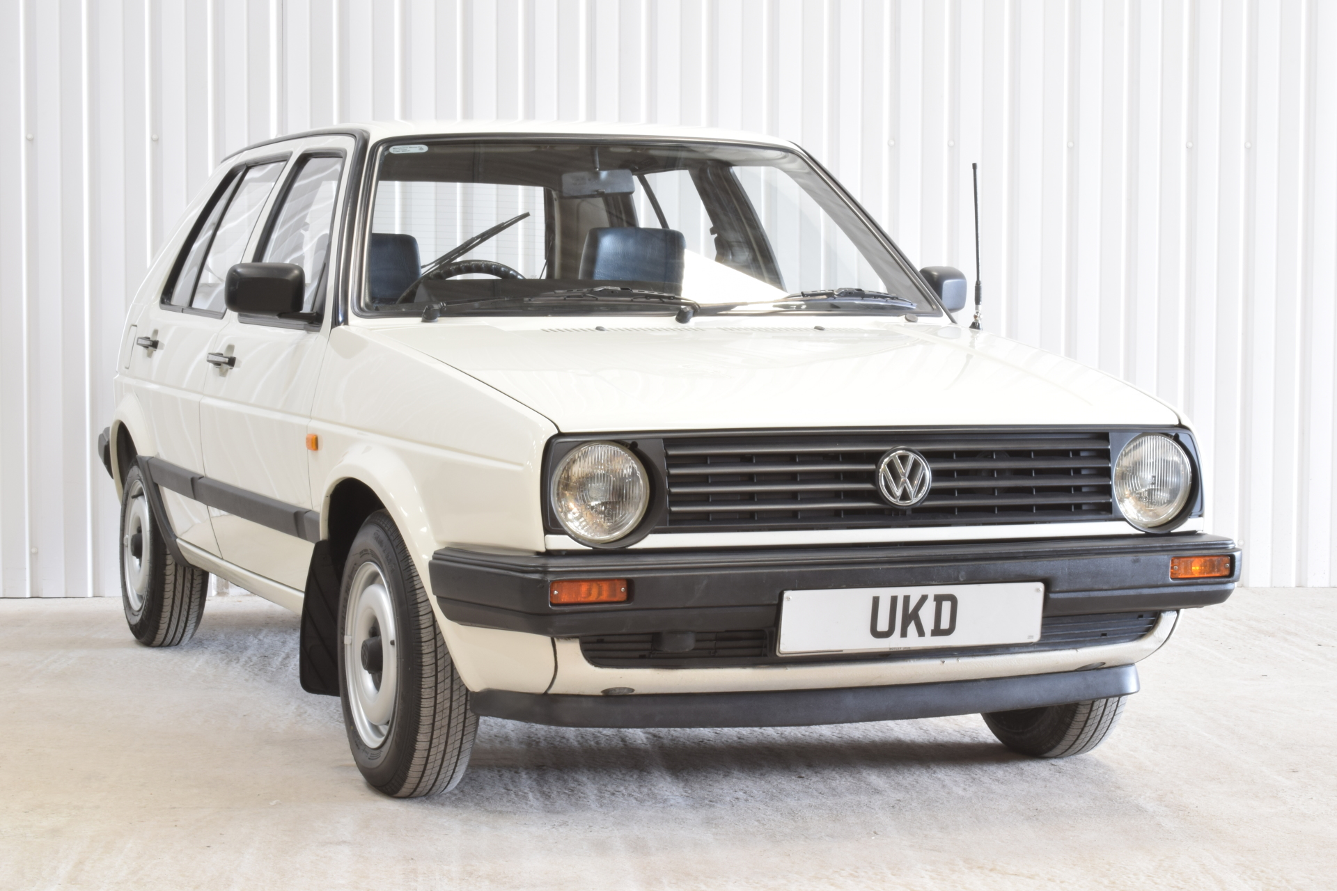 VW GOLF MK2 1.3 5DR WHITE 1988