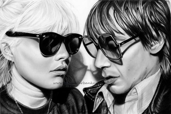 Debbie Harry/Blondie & Iggy Pop.