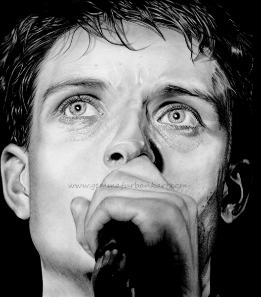 Ian Curtis - Joy Division. SOLD ORIGINAL