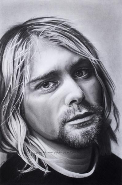 16. Kurt Cobain - Nirvana.