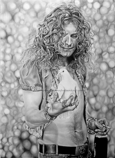 ROBERT PLANT - LED ZEPPELIN. SOLD
